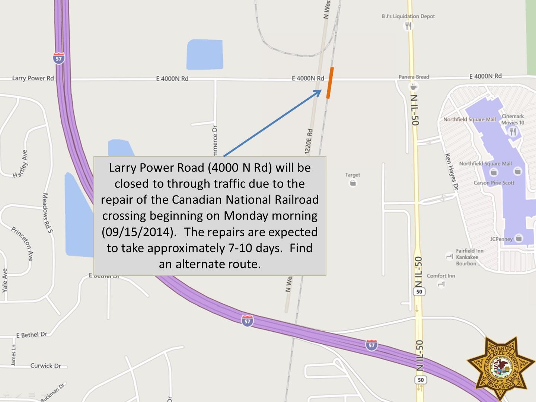 Road Closures | Kankakee County Sheriff